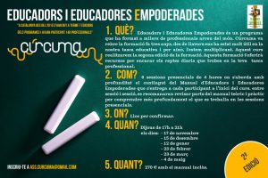 Cartell Educadors i Educadores Empoderades