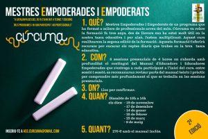 cartel Mestres Empoderades i Empoderats